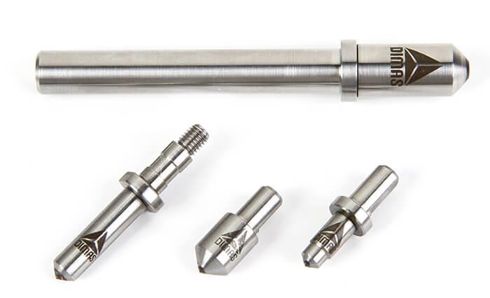 Ponta de diamante para durometro
