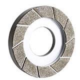 Rebolo Diamantado Eletrolítico